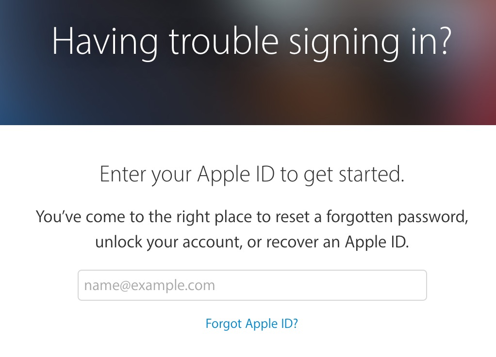 forgot-apple-id-password
