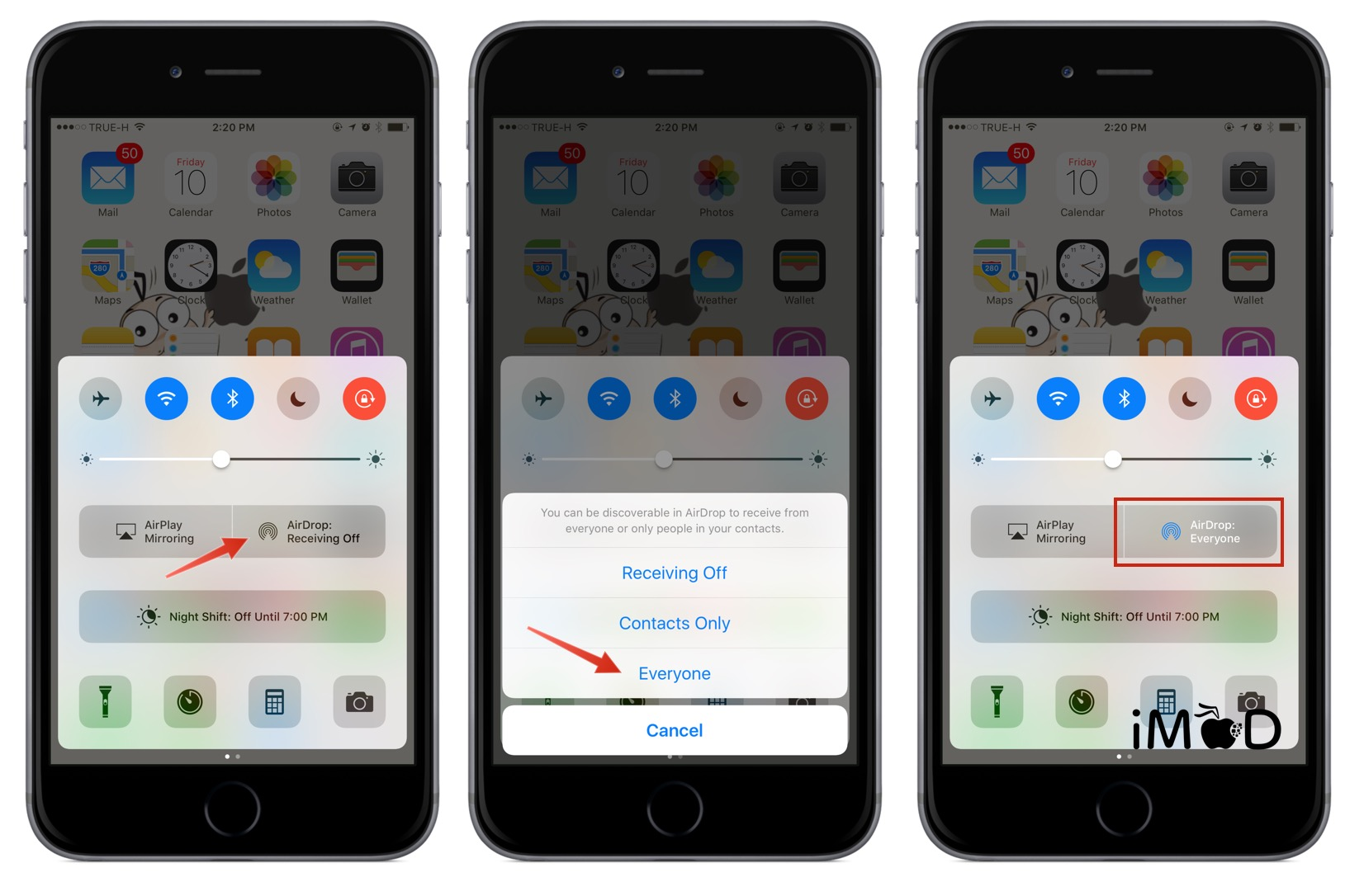 how to use airdrop on samsung