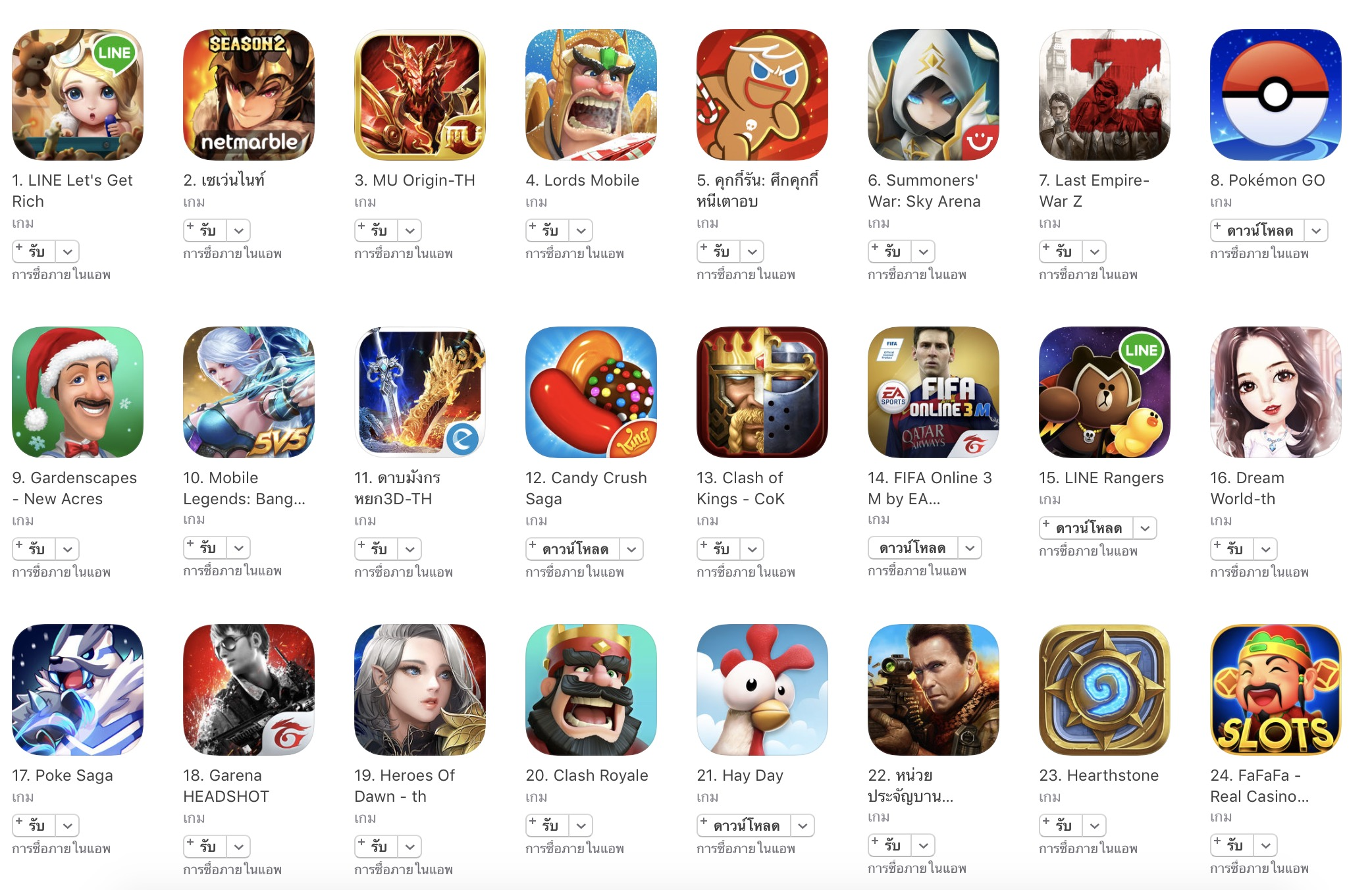 top game ios 2016