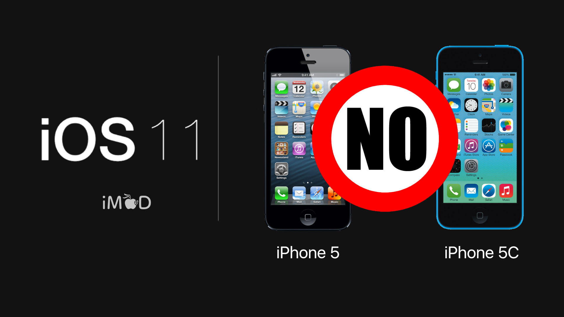 iphone-5-5c-ios11- no-support
