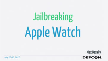 Applewatch Jailbreak Cover