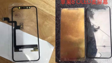 Iphone8 Oled Part Photo Leaks Cover