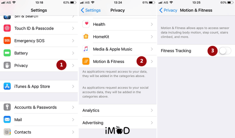 26.close Fitness Tracking Save Battery Ios 11