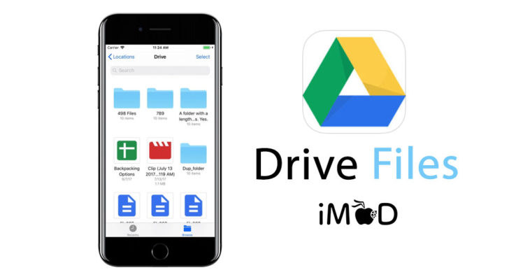 Google Drive Files Ios11