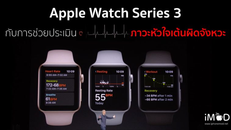 Apple Watch Series 3 Apple Heart Study