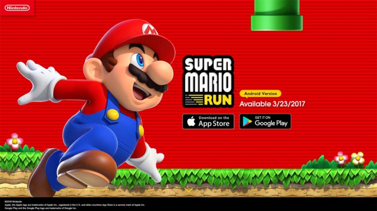 Game Super Mario Run Cover