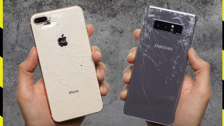 Iphone8plus Galaxynote8 Droptest