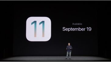 Ios 11 Septemmber 19