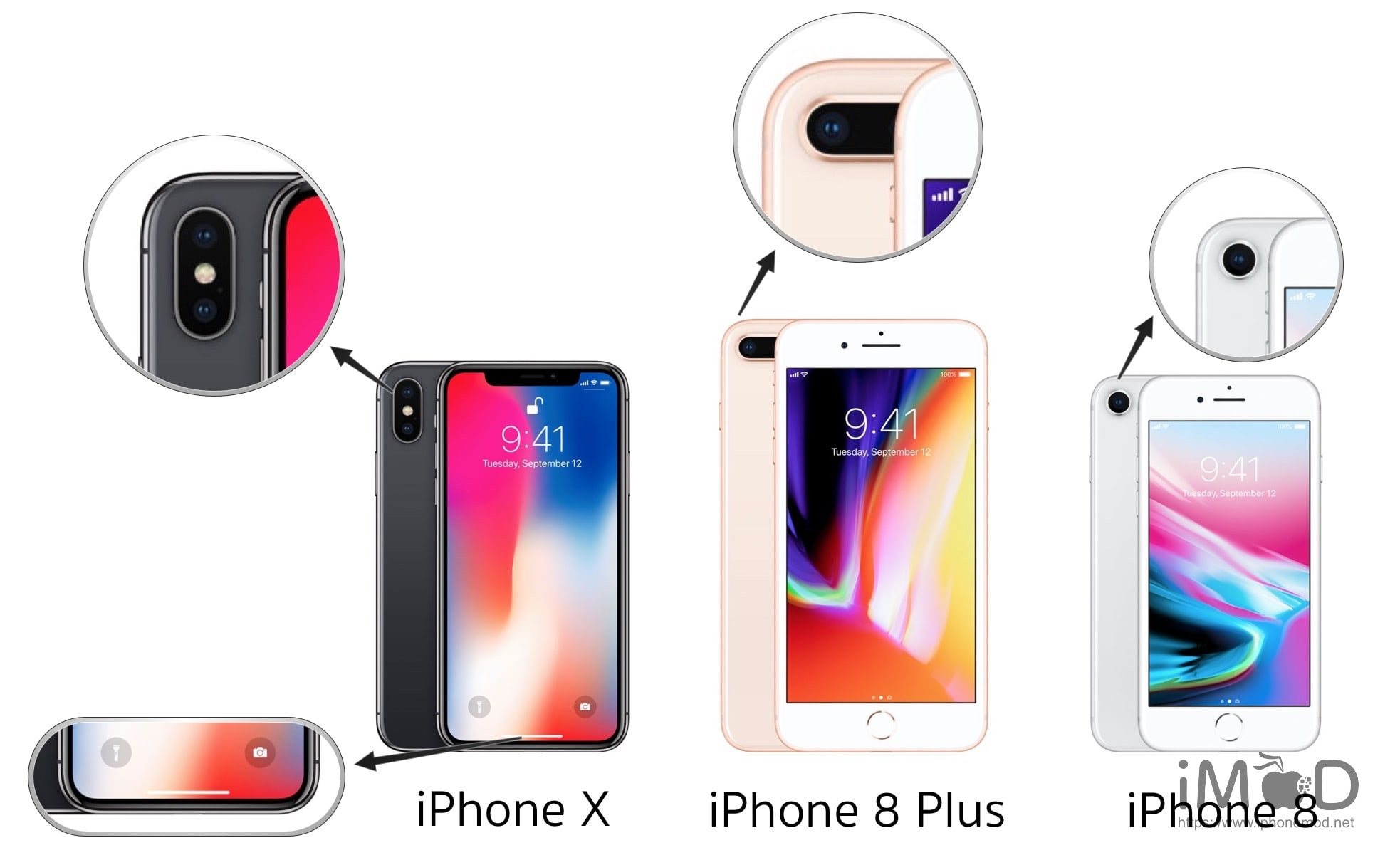 Iphone X 8 8p Outside Different