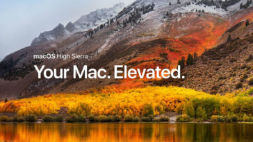 Macos High Sierra Now Available Feature