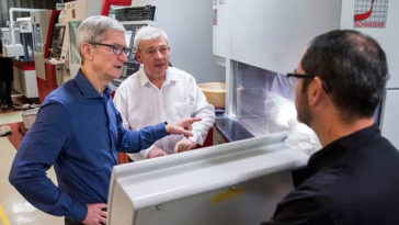 Tim Cook Meet Faceid Critical Component Firm Cover