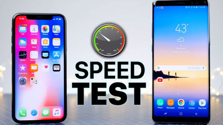 Iphone X Note 8 Speed Test Cover