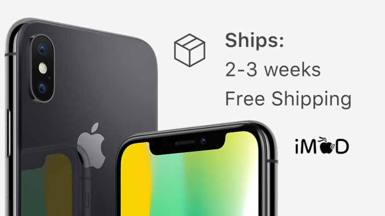 Iphone X Shipment Nov 2017