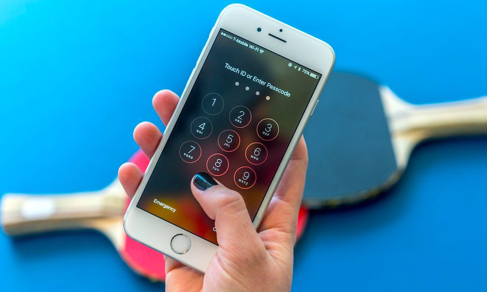 T Mobile Iphone Lock Screen Passcode Security