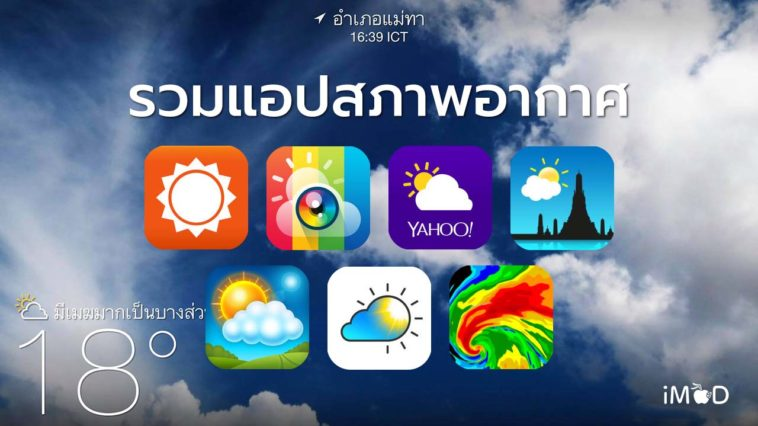 Weather Apps Cover