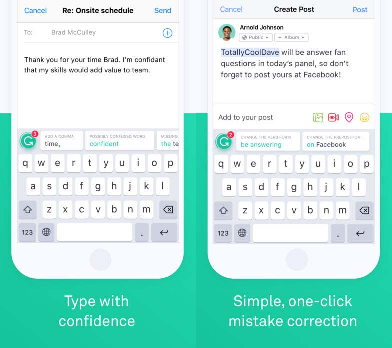 App Grammarly Content2