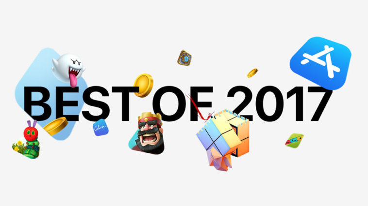 Apple Best Of App Store 2017 Cover Us