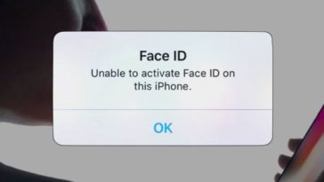 Face Id Activation