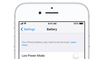 Ios Battery Service Cover