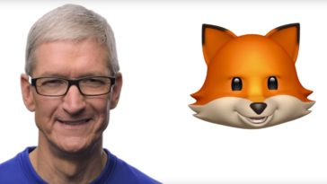 Animoji Tim Cook