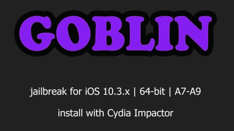 G0blin Jailbreak R64bit A7 A9 Iphone Ios 10 3 X