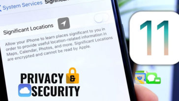Ios 11 Turn Off For Privacy