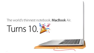 Macbook Air 10 Years