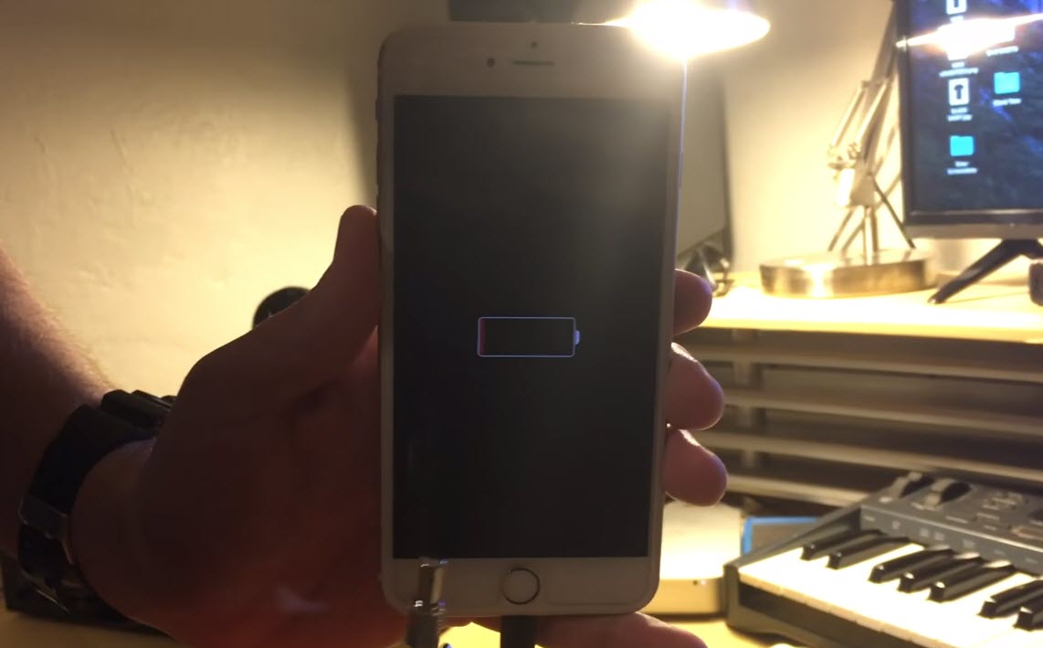 Underwater Detected Iphone 6s Plus 5