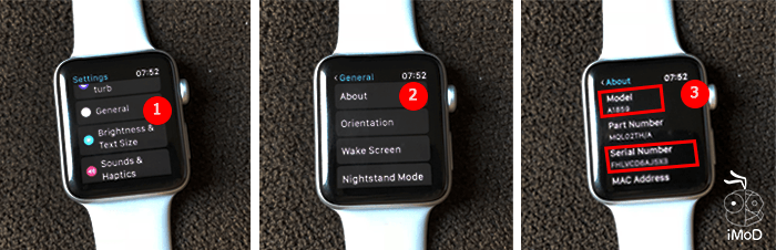 How To Check Apple Watch Serial Number Model On Applewatch