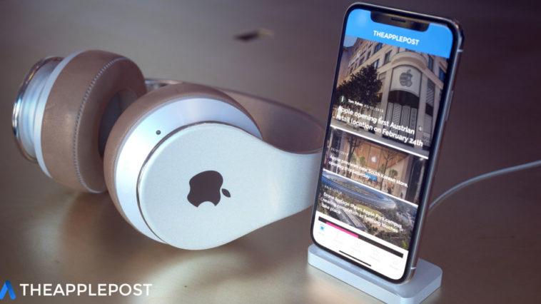 Apple Over Ear Headphone Concept Image