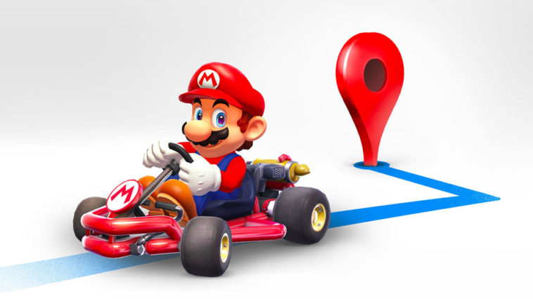 Google Maps Mario Time 2018