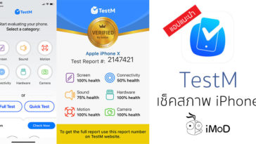Testm Iphone Check Report