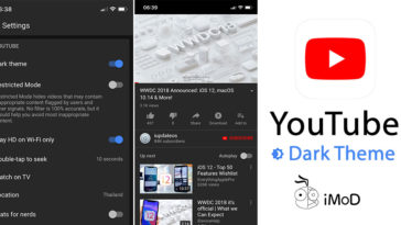 Youtube Dark Theme