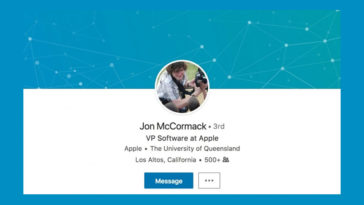 Apple Hires Jon Mccormack Vp Software