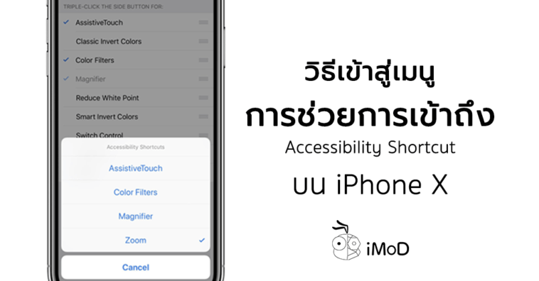 How To Access Accessibility Shortcut Iphone X
