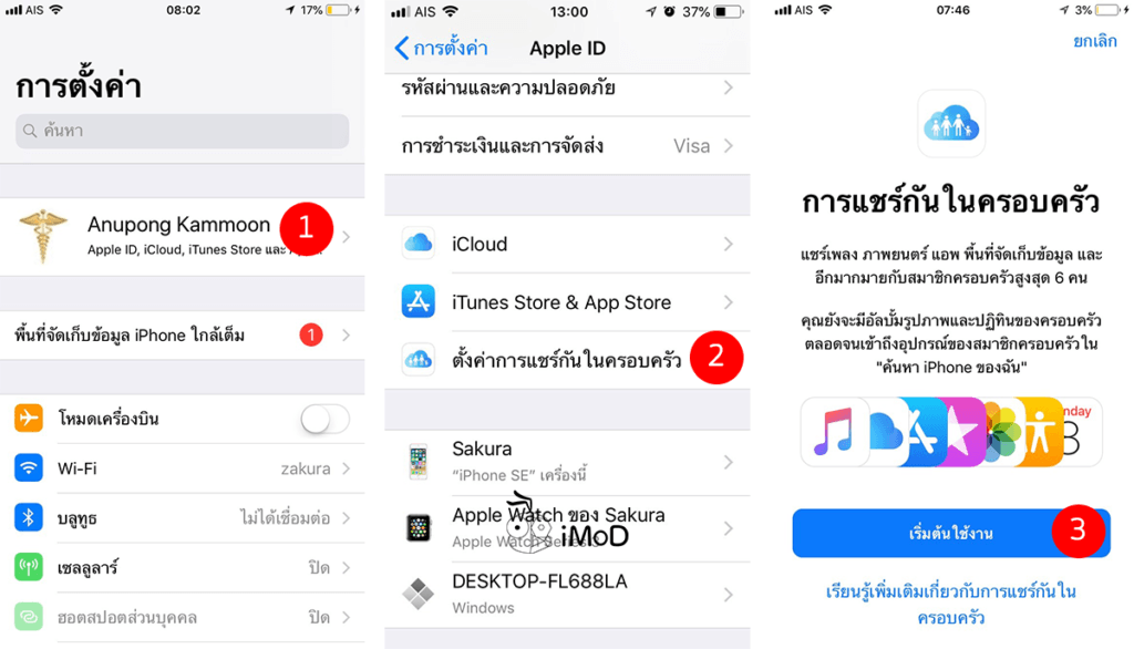 How To Share Purchase App In App Store To Family 1