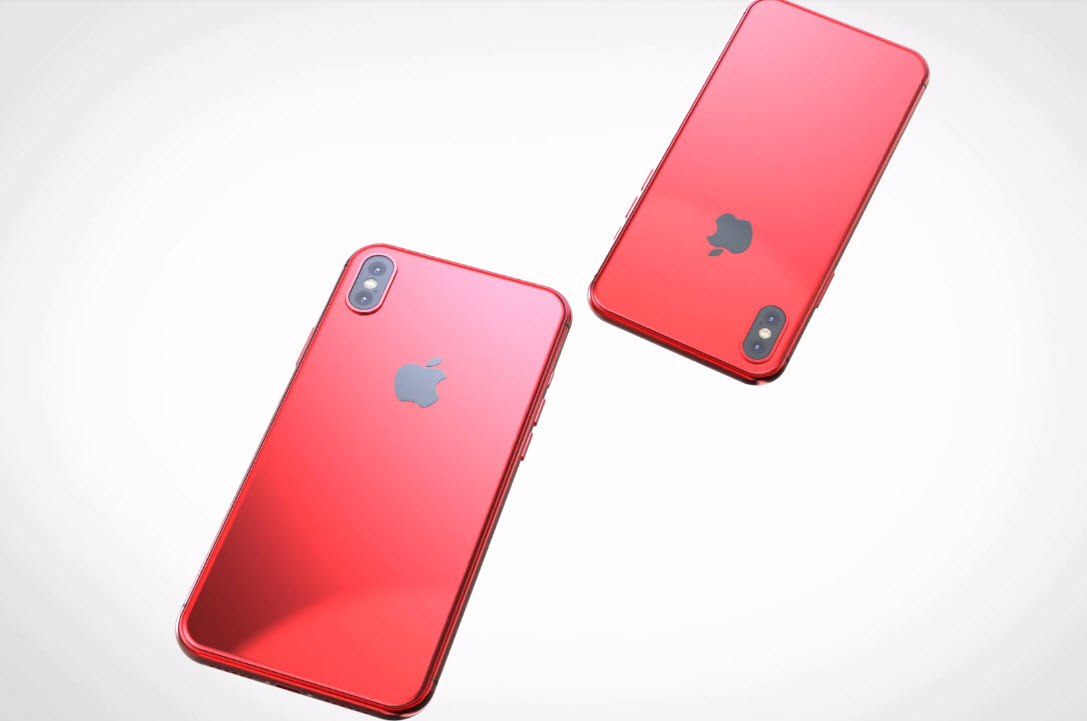Iphone X X Plus Red Concept 002