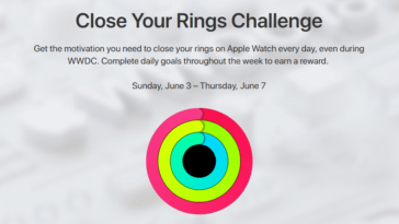 Close Your Ring Challenge Wwdc 2018