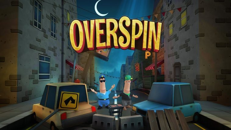 Overspin Game Cover