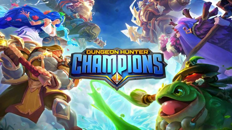 Game Dungeon Hunter Champions Cover
