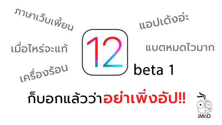 User Dont Update To Ios 12 Beta 1
