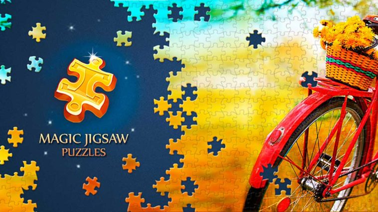 Game Magic Jigsaw Puzzles Cover