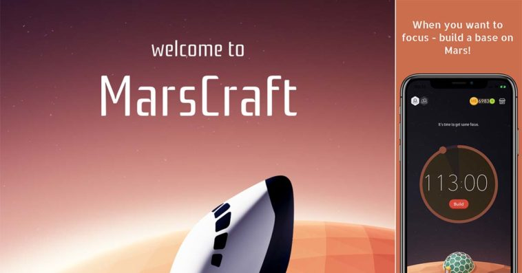 Game Mars Craft Cover