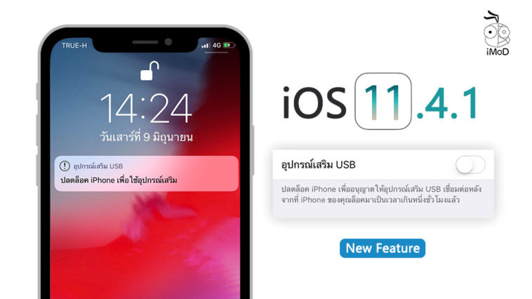 Ios 11 4 1 Usb Feature