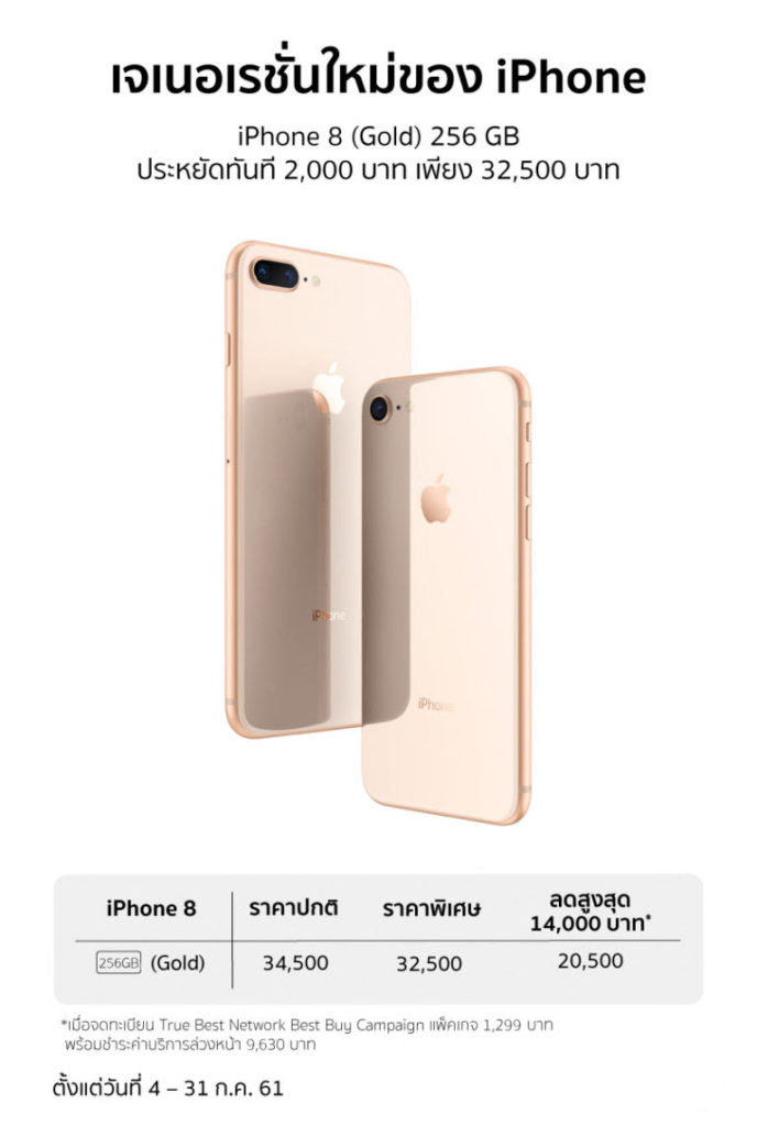 Iphone 8 256gb Gold Studio 7 Banana Promotion 1
