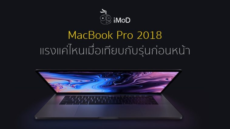 Macbook Pro Performance July 2018 Cover