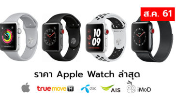 Apple Watch Price List Aug 2018