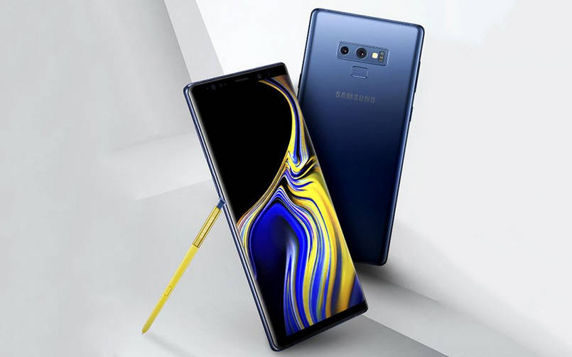 Samsung Galaxy Note 9 Vs Iphone X 1