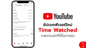 Time Watched New Feature Youtube
