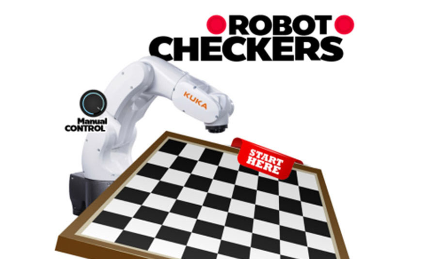 True Robotic New Checker Robot Iot 3